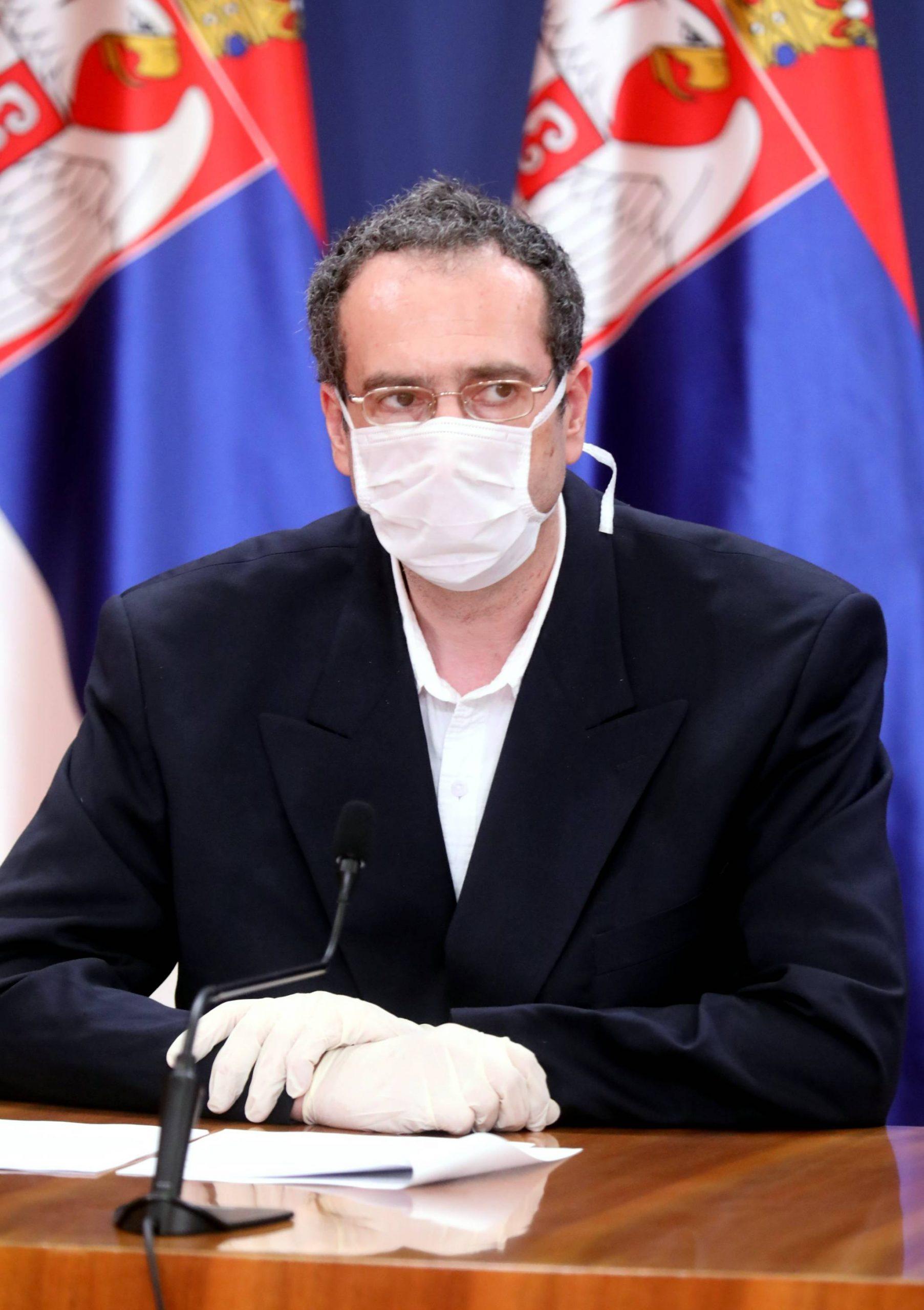 Janković: Brine podatak da je više dece obolele od kovida 1