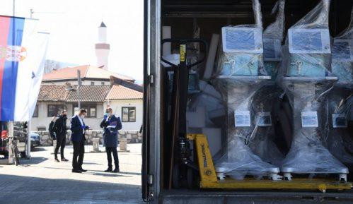 Novi Pazar: Oprema se privremena bolnica 1