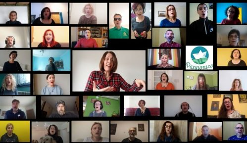 Virtuelna proslava godišnjice hora Pannonica 12