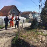 Pripadnici Vojske Srbije i Civilne zaštite grada Kraljeva dezinfikovali romsko naselje 4