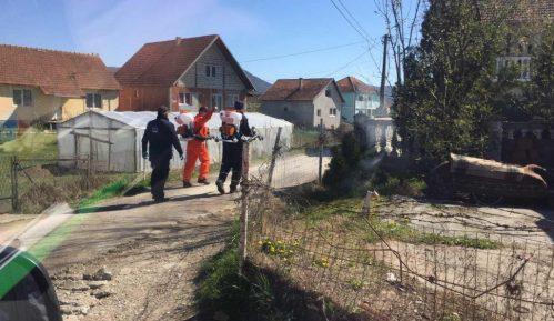 Pripadnici Vojske Srbije i Civilne zaštite grada Kraljeva dezinfikovali romsko naselje 3