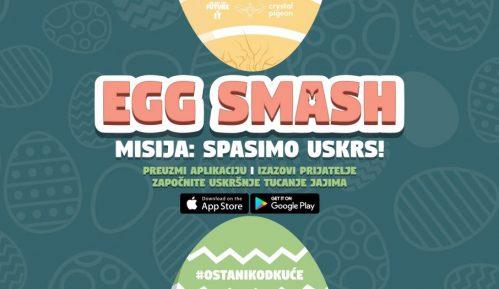 Tucanje jajima uz pomoć aplikacije za telefon 1