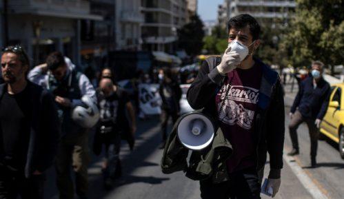 Grčka vlada pozvala sindikate da pomere prvomajska okupljanja 9