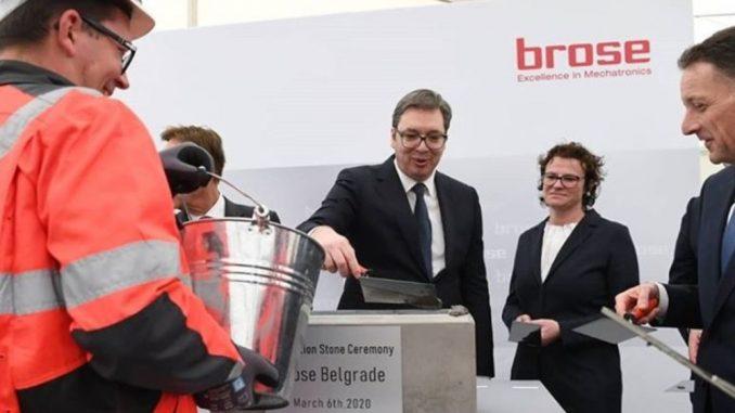 Vučićeva izjava o srpskim firmama - licemerna 1