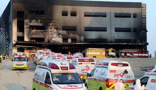 Najmanje 38 osoba poginulo u požaru na gradilištu u Južnoj Koreji 9