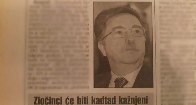 Šainović (SPS) pre 20 godina tvrdio da SR Jugoslavija ima budućnost 2