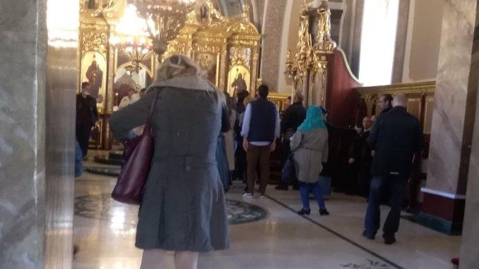 U Sabornoj crkvi u Požarevcu održana liturgija uz pričest 1