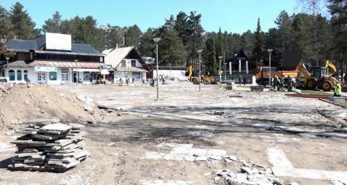 Rekonstrukcija Kraljevog trga na Zlatiboru 3