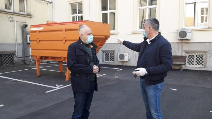 Radojičić: Na 18 lokacija u Beogradu tankovi sa sredstvima za dezinfekciju zgrada 1