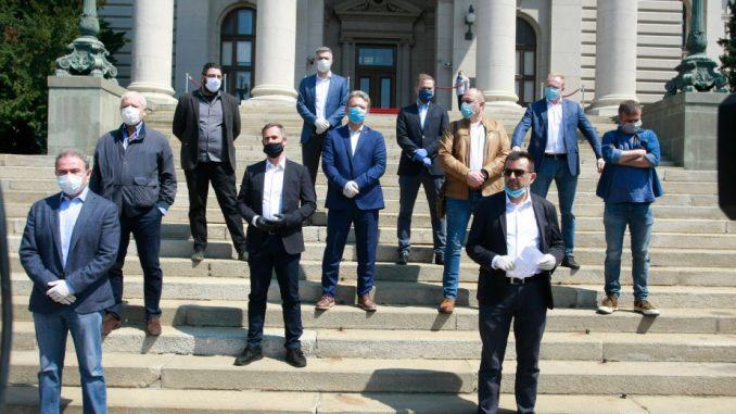 SZS neće prisustvovati sutrašnjoj sednici Skupštine, najavili protest za četvrtak 1