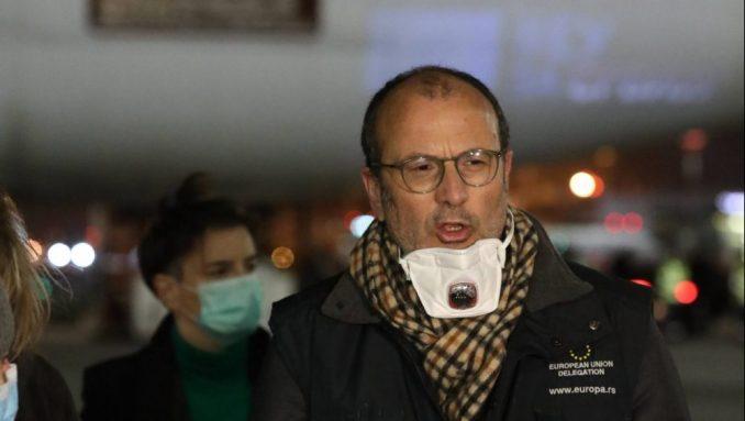 U Beograd stigla oprema koju je kupila Srbija, prevoz plaća EU 3