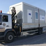 Kosovska policija postavila kontejnere kod Jarinja 7
