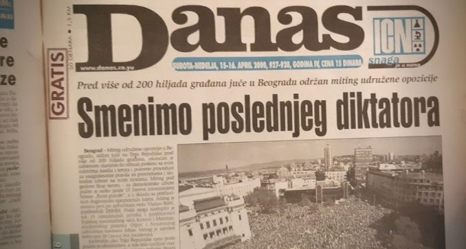 Kako je izgledao veliki miting udružene opozicije 2000. godine? 4