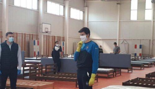 Šabac: Sala Ekonomske škole spremna za prihvat obolelih 2