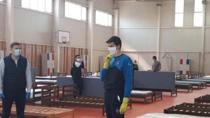 Šabac: Sala Ekonomske škole spremna za prihvat obolelih 3
