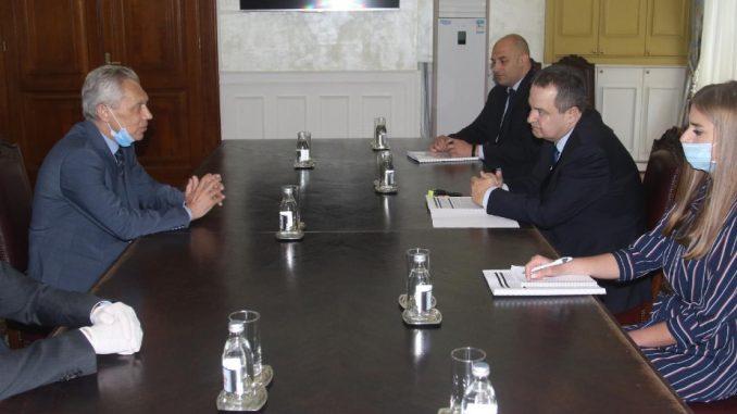 Dačić se zahvalio Bocan Harčenku na pomoći Rusije u borbi protiv korone 2