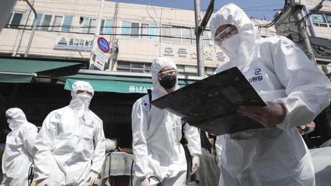 U Južnoj Koreji zabrinjava brzina širenja korona virusa 4