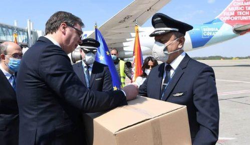 Italijanski privrednici zahvalili Vučiću na donaciji koju je Srbija uputila Italiji 14