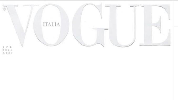 """Italijanski """"Vog"""" izlazi bez naslovne fotografije, sa potpuno belom stranicom 3"""