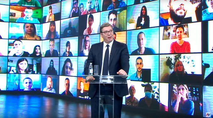 """Vučić """"ekranizovao"""" Orvelovu knjigu 1"""