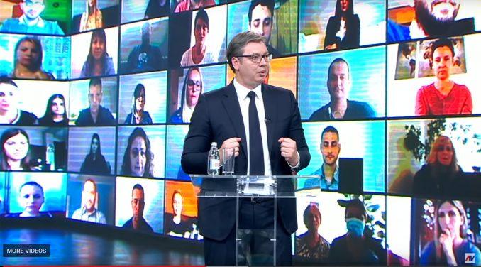 REM: Vučić najviše na televizijama 4