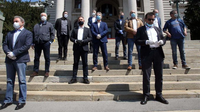 Dveri nisu u Ujedinjenoj opoziciji Srbije 3