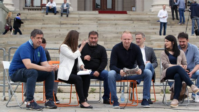 Sednica rukovodstva SSP u znak podrške Obradoviću 4