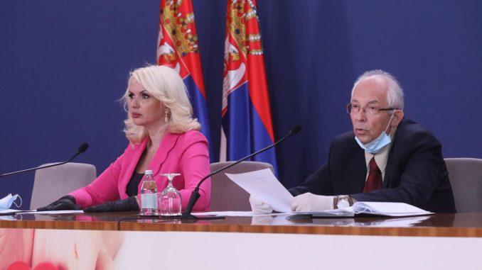 Krizni štab: U Srbiji se stabilizuje epidemiološka situacija 1