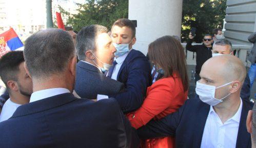 MUP podneo krivičnu prijavu protiv Obradovića i još tri lica zbog incidenta ispred Skupštine 5