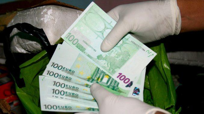 Zaplenjeno falsifikovanih 10.500 evra na Merdaru 1