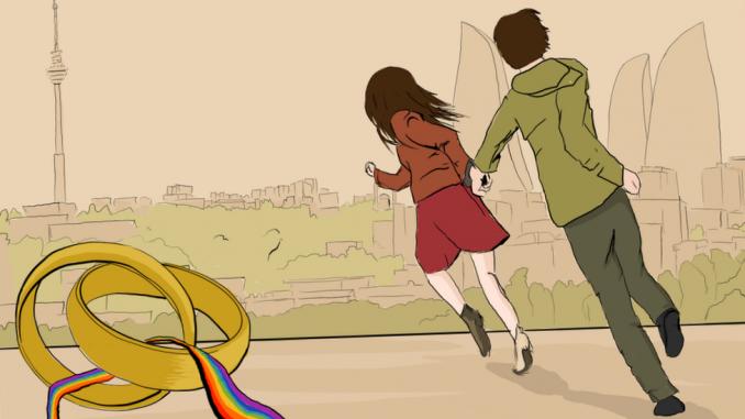 Brak i LGBT: Zašto se u Azerbejdžanu gejevi i lezbejke venčavaju jedni s drugima 4