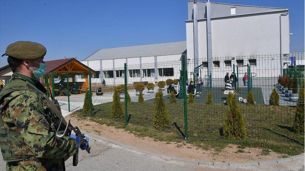 migranti centar za azil u sjenici