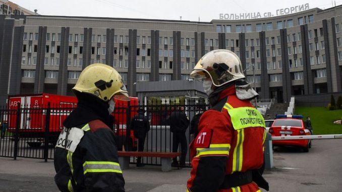 Korona virus u Rusiji: Zapalio se respirator, stradalo pet pacijenata u bolnici u Sankt Peterburgu 3