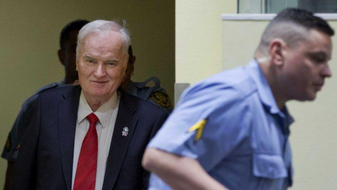 Haški sud odložio raspravu o žalbama na prvostepenu presudu Ratku Mladiću 2