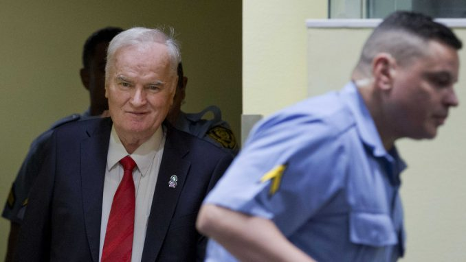 Haški sud odložio raspravu o žalbama na prvostepenu presudu Ratku Mladiću 1