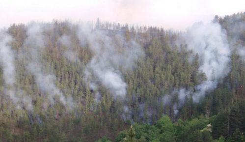 Veliki požar na Kopaoniku, gori i šuma oko manastira Studenica, evakuisano šest domaćinstava 15