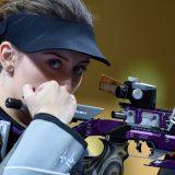 Srpska reprezentativka u streljaštvu Andrea Arsović u finalu Olimpijskih igara 11