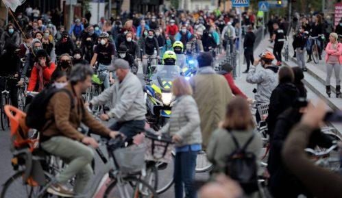 U Ljubljani novi biciklistički protest protiv vlasti 10