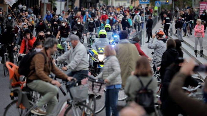 U Ljubljani novi biciklistički protest protiv vlasti 2