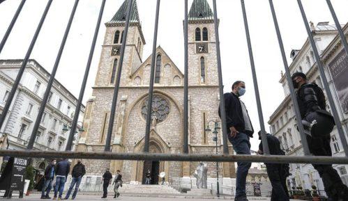 Sarajevo: Završena šetnja antifašista 1