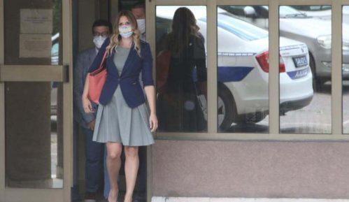 Aleksandra Jerkov saslušana u policiji zbog prijave Lutovca 5