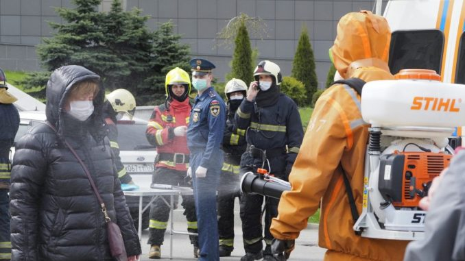 Ruske vlasti naložile proveru respiratora posle požara u bolnici 1