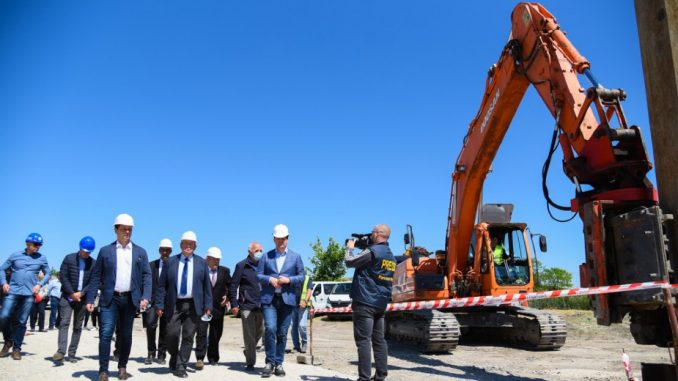 Radovi na postrojenju za prečišćavanje otpadnih voda u Bačkoj Topoli do aprila 2021. 4