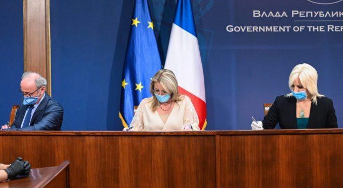 Srbija i Francuska potpisale sporazum o donaciji 8,3 miliona evra za beogradski metro 3