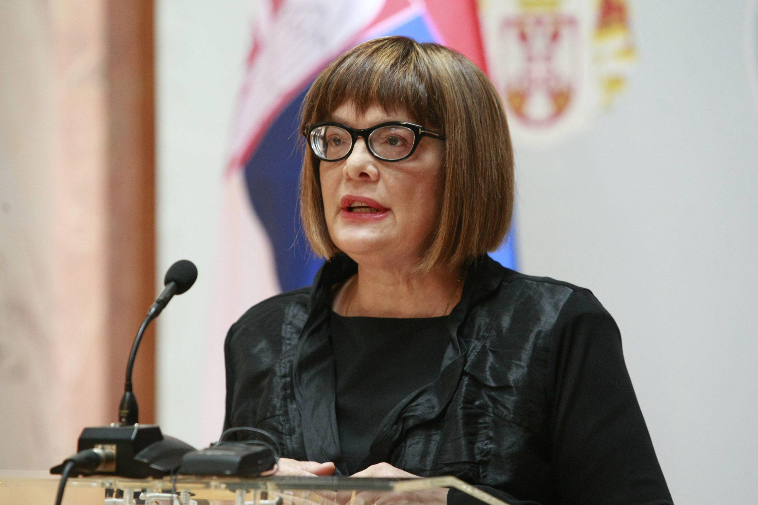 """""""Ministarki će biti potrebno mnogo napora da kultura bude u fokusu vlade"""" 1"""
