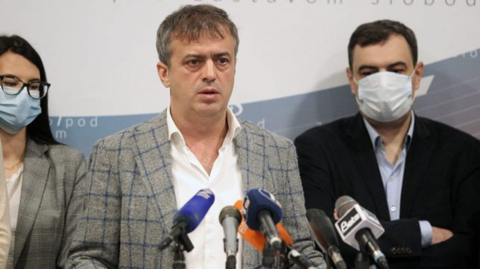Trifunović (PSG): Nisam očekivao da će armija bojkotaških botova krenuti na mene 3