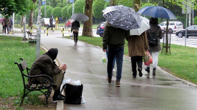Danas u Srbiji oblačno, nestabilno, mestimično kiša 2