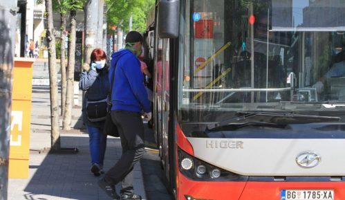 Popunjenost vozila javnog gradskog prevoza prosečno 50 odsto 3
