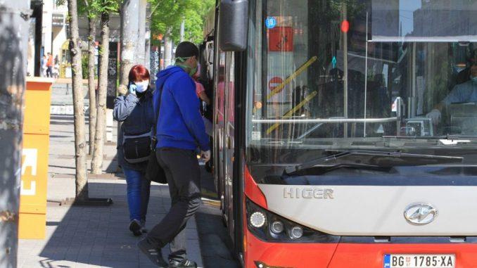 Popunjenost vozila javnog gradskog prevoza prosečno 50 odsto 2