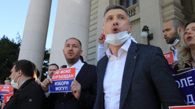 Tužilaštvo podnelo optužnicu protiv Boška Obradovića zbog incidenta ispred Skupštine 3